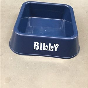 New pet bowl with name